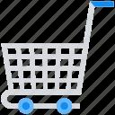 basket, cart, data analytics, shopping icon