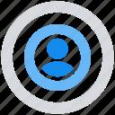 analysis, circle, data analytics, target, user