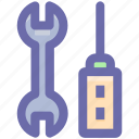maintenance, repair, screwdriver, setting, tool, wrench icon