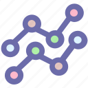 chart, data, diagram, graph, pie chart icon