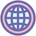 earth, globe, world, world globe, worldwide icon
