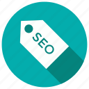 badge, label, price, seo, tag icon