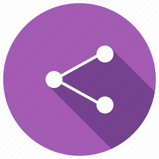 business, communication, network, share icon