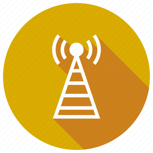 antena, signal, station, tower icon