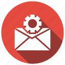 cog, email, gear, setting, settings icon