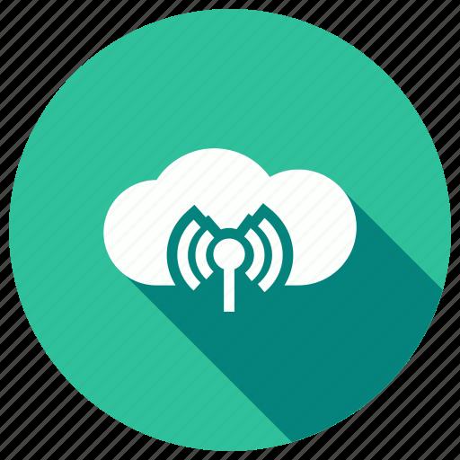 cloud, internet, technology, wifi, wireless icon