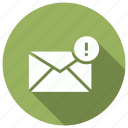 envelope, mail, message, unread icon