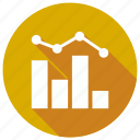 analytics, bargraph, graph, statistics icon