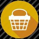 basket, shopping, ecommerce, cart