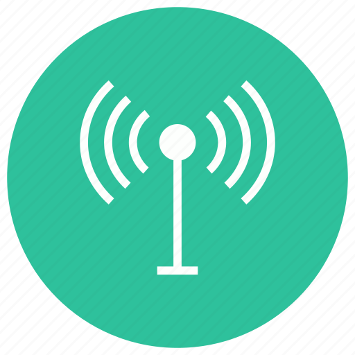 antenna, internet, satellite, signal icon