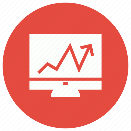 analysis, business, graph, online icon