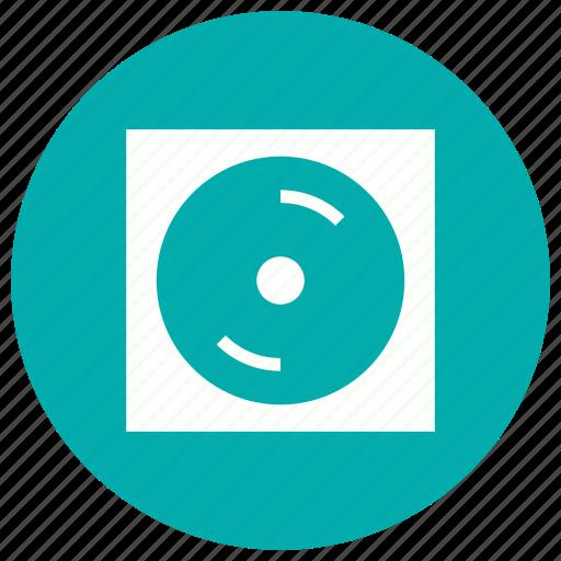 cd, dvd, movie, player icon