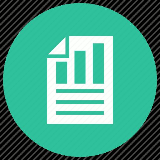 data, diagram, graph, report, search icon