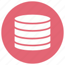 database, hosting, network, server, storage icon