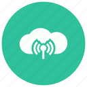 cloud, internet, technology, wifi, wireless icon