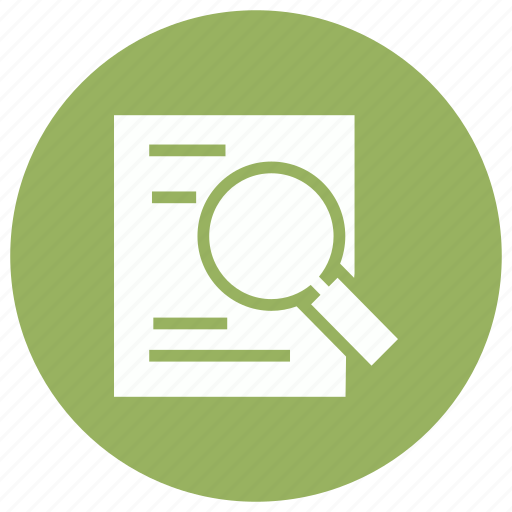 analysis, find, monitoring, search icon