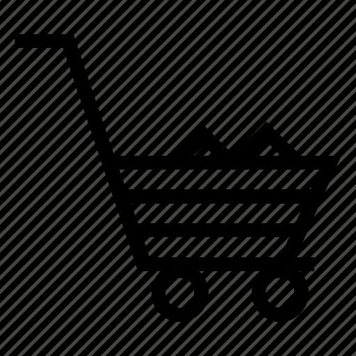basket, cart, shoppingcart, trolley icon