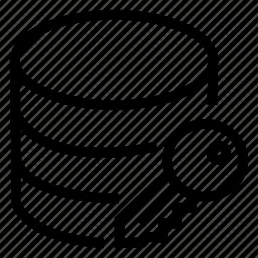 Data, database, key, server, storage icon - Download on Iconfinder