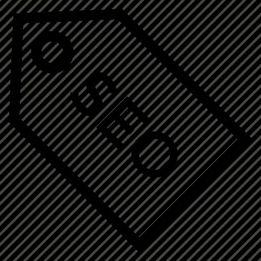 badge, label, price, seo, tag icon