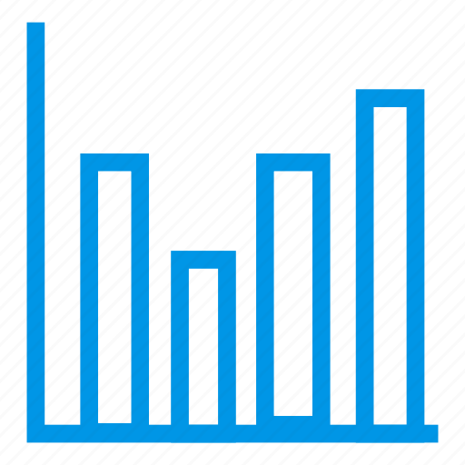 analysis, business, monitor, statistics icon