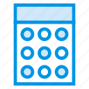 accounting, business, calculator, finance, math icon