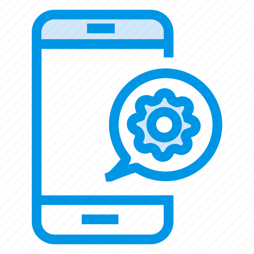 cellphone, configurations, mobile, setting icon