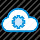 cloud, data, options, settings