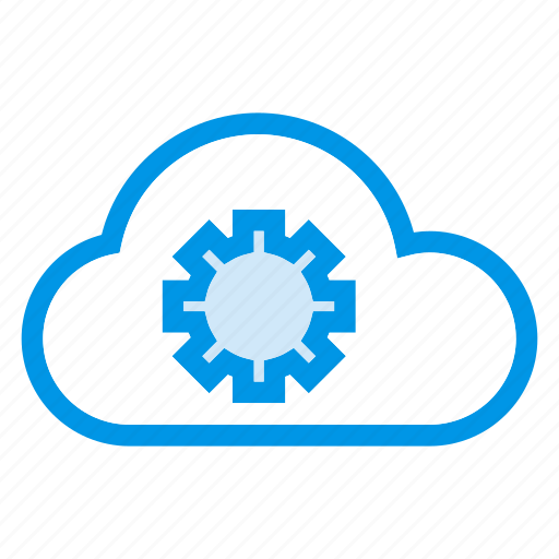 cloud, data, options, settings icon