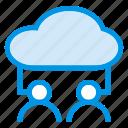 account, cloud, computing, man, user