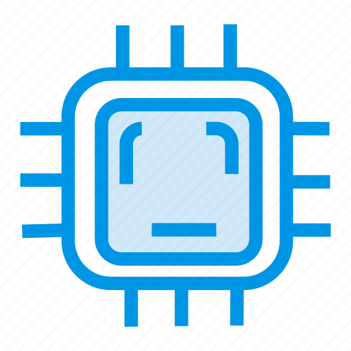 chip, computer, software, system icon