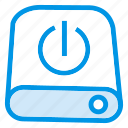 data, disk, drive, storage icon