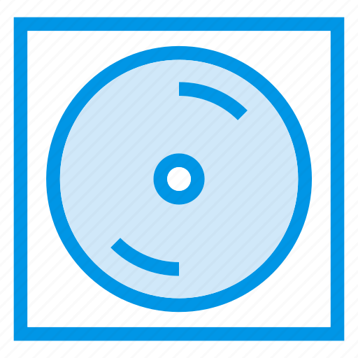 Cd, player, movie, dvd icon