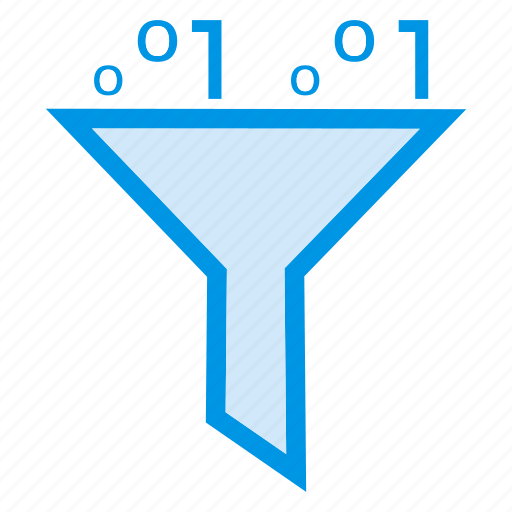 categories, filter, funnel, sorting icon