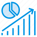 analysis, chart, report, statistics icon