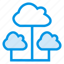 cloud, computing, share, sharing, storage icon