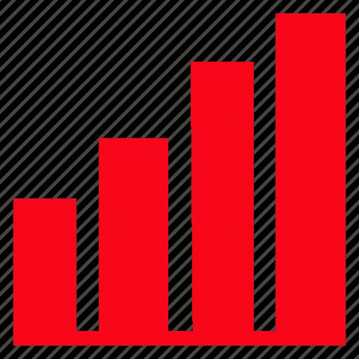analytics, bar, graph, statistics icon