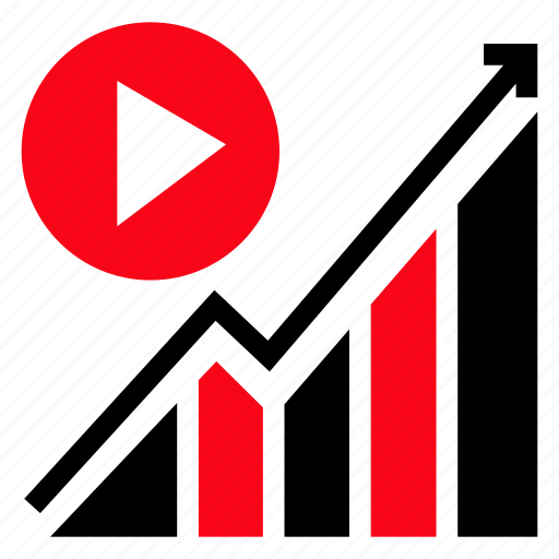 chart, diagram, graph, level icon