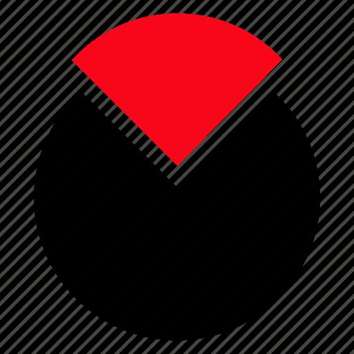analytics, chart, pie, piechart icon