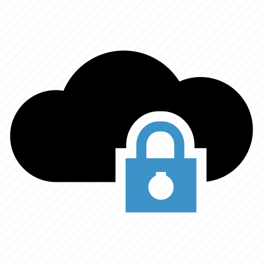 Cloud, lock, protection, secure, security icon - Download on Iconfinder