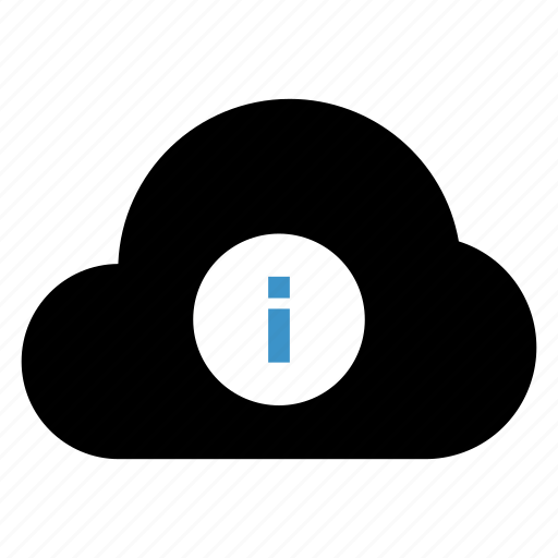 cloud, help, information, seo icon