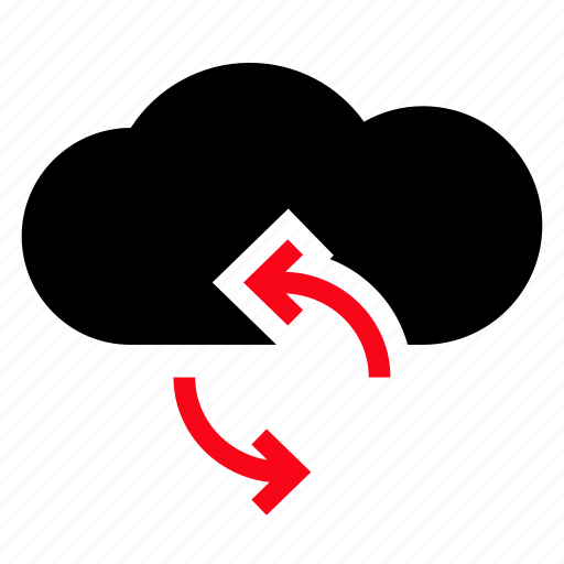 cloud, computing, refresh, reload icon