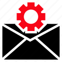 gear, setting, email, cog, settings icon