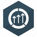 analysis, analytics, diagram, monitoring, statistics icon