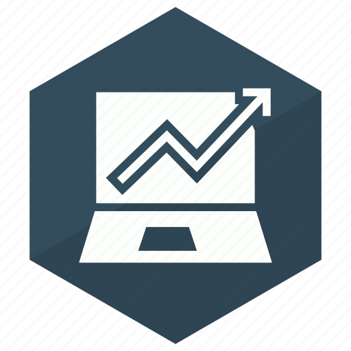browser, graph, online, report icon