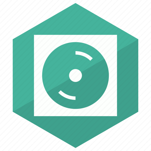 cd, dvd, movie, player icon