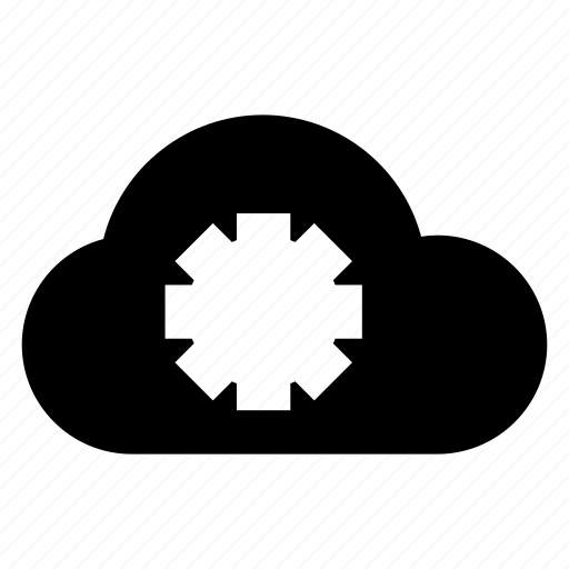 cloud, data, options, settings icon