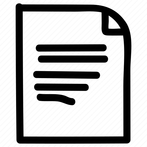 document, extension, file, textfile icon