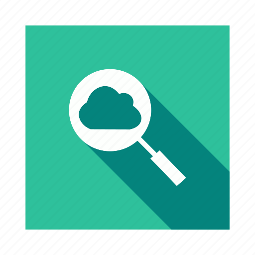 Cloud, find, magnify, search icon - Download on Iconfinder