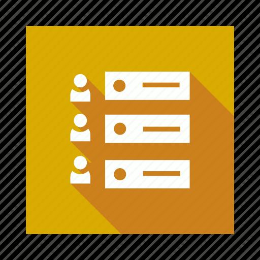 contact, list, user, userlist icon