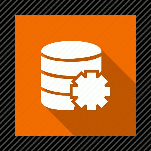 cog, gear, options, server, setting icon